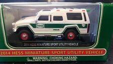 2014 Hess Miniature Truck - 100% Mint-in-Box  - 2014 Hess Mini SUV