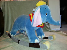 DUMBO RIDE ROCKER Rocking DISNEY STORE CATALOG Baby Decor COLLECTIBLE Toy NEW