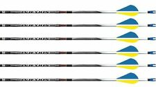 "Easton Carbon Injexion 330 Arrows Deep 6 Factory Fletched w/ 2"" Blazers 6 Pack"