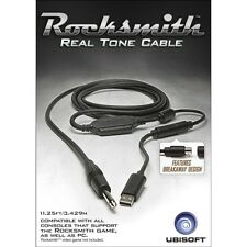 Rocksmith Real Tone Cable PS3 y Xbox 360 Totalmente Nuevo