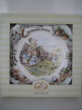 "ROYAL DOULTON Brambly hedge 8 ""rientro vincolati PIASTRA BONE CHINA 1a qualità"
