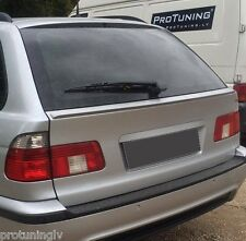 BMW E39 Touring Rear Door Boot Trunk Spoiler Lip Wing Trim Lid M cover tailgate