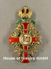 Austria: Francesco Giuseppe Orden, ufficiale a Croce con decorazione di guerra, steckkreuz