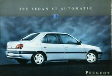 Peugeot 306 Sedan ST Automatic Sales Leaflet - February 1995
