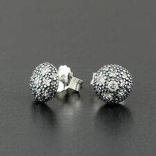 Genuine sterling silver sparkling Cosmic stars stud earrings