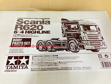 Tamiya 56514 1/14 RC Scania R620 6x4 Highline Body sets