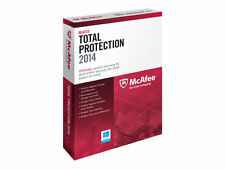 Mc Afee Total Protection 2014 2015 DOWNLOAD for 1 PC 12 Month