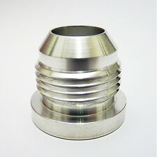 AN-16 AN16 ALUMINIUM WELD ON BUNG Hose Fitting Adapter Fuel Oil Cooler Tank Cell