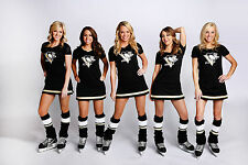 PITTSBURGH PENGUINS SEXY ICE GIRLS 2016/17 COLOR 8X10