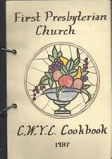 *BOISE ID 1987 FIRST PRESBYTERIAN CHURCH COOK BOOK *CWYC *IDAHO COMMUNITY *RARE