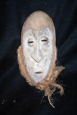 African mask from the Lega people of Congo.