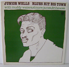 Junior Wells Blues Hit Big Muddy Waters Elmore James Vinyl Delmark Records 640