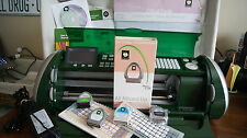 Cricut DARK GREEN EXPRESSION Cutting Machine - Excellent -New Mat - 6 Cartridges