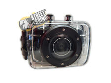 "Toyota Aristo Action Camera 2"" Touch Screen With Clear Water Proof Case"