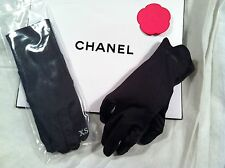 Chanel Black Gloves -- Size Extra Small -- NEW
