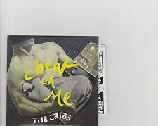 CRIBS-Cheat on me UK promo cd single with comic