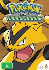 Pokemon Diamond & Pearl Galactic Battles Season 12 (DVD, 2014, 6-Disc Set)