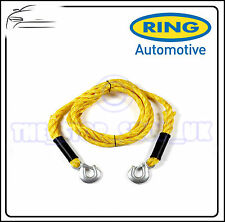 Ring Heavy Duty Tow Rope 3,500kgs 3.5 Tones Snap Hooks 4m RCT1540