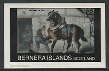 GB Locals - Bernera 3266 - 1982  HORSES  imperf deluxe sheet unmounted mint