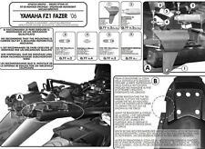Givi fitting kit PLX359KIT hardware mount for side case Yamaha Fazer FZ1 2006-15