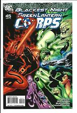 GREEN LANTERN CORPS # 45 (BLACKEST NIGHT, APR 2010), NM