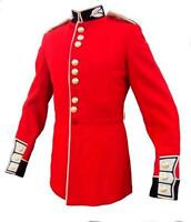 BRITISH ARMY GUARDS TROOPER TUNICS -  RED CEREMONIAL TUNIC - GRADE 1 CONDITION