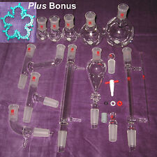 NEW Organic Chemistry Lab Glassware Kit 24/40      #29