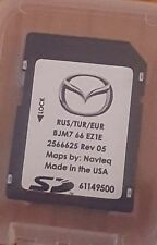 Carte SD GPS MAZDA Connect Europe-Turquie-Russie 2016 (SD CARD)