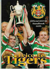 Leicester Tigers 1997/8 Rugby anual Libro