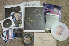 """EXO LUHAN PHOTOBOOK """"All for You"""" 2nd Photobook by Raindrop Korean Fansite RARE!"""