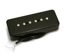 Black Soapbar P90 Style RwRp Neck Guitar Pickup for Gibson/Epiphone® PU-P9S-NB