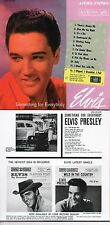CD ALBUM Elvis PRESLEY Something For Everybody (1961) - Mini LP REPLICA - 12-tr