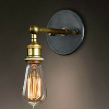 E27 Retro Fixtures  Loft Metal Vintage Industrial Rustic Sconce Wall Light Lamp