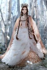 Barbie FARAWAY FOREST LADY OF THE WHITE WOODS DOLL CATALOG UNOPENED TISSUED BOX