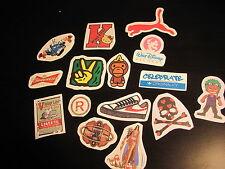SET 4: LOT de 15 Stickers déco voiture ordinateur guitare moto meubles téléphone