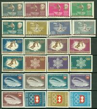 PARAGUAY : 3 Scarce 1964 Olympic Imperf sets & S/S. Very Fine, Mint Never Hinged
