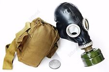 Russian military soviet Black gas mask GP-5 with filter. New sizes 0 1 2