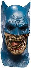 BLACKEST NIGHT BATMAN ZOMBIE DELUXE OVERHEAD LATEX MASK! ADULT COSTUME NEW