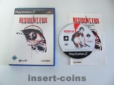 Resident Evil Dead Aim   -   Playstation 2 / PS2 / OVP / Pal / 40/16