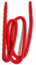 Washable Hose Pipe Nargila Hookah Shisha 160cm Hard Plastic Spiral Red