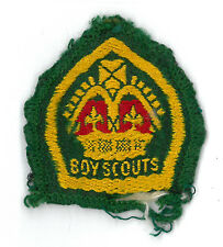 1950's UNITED KINGDOM UK / BRITISH SCOUTS - QUEEN'S SCOUT Top Rank Highest Badge