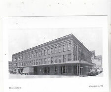 """~Post Card~/""""Hendley Row Building"""" (One of Oldest Survived) Galveston TX (A3-17)"""