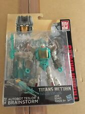 Transformers Titan Return NEW Brainstorm