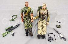 Poseable 12 In Military Action Figures & Weapons Brand Gi Joe Power Team MAC