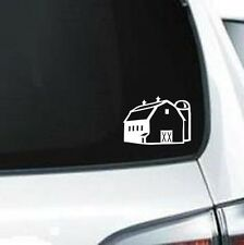 B130 Barn Farm Life Building  wall vinyl decal for car truck