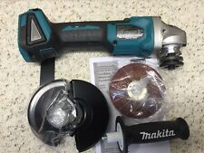 "Makita•XAG03•18 Volt•4-1/2"" Angle Grinder•Brushless•18 Volt•Tool Only•New!"