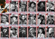 Red River John Wayne movie trading cards Montgomery Clift