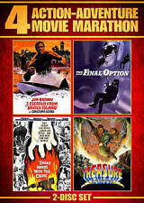 Action Adventure Movie Marathon (Shake Hands With the Devil/The Final Option/I E