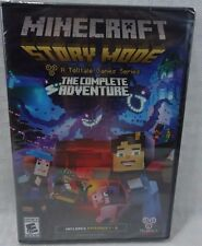 Minecraft: Story Mode A Telltale Game Series The Complete Adventure Ep1-8 PC DVD