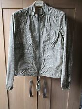 Woman's Full Circle Cream and pale green jacket Size 14